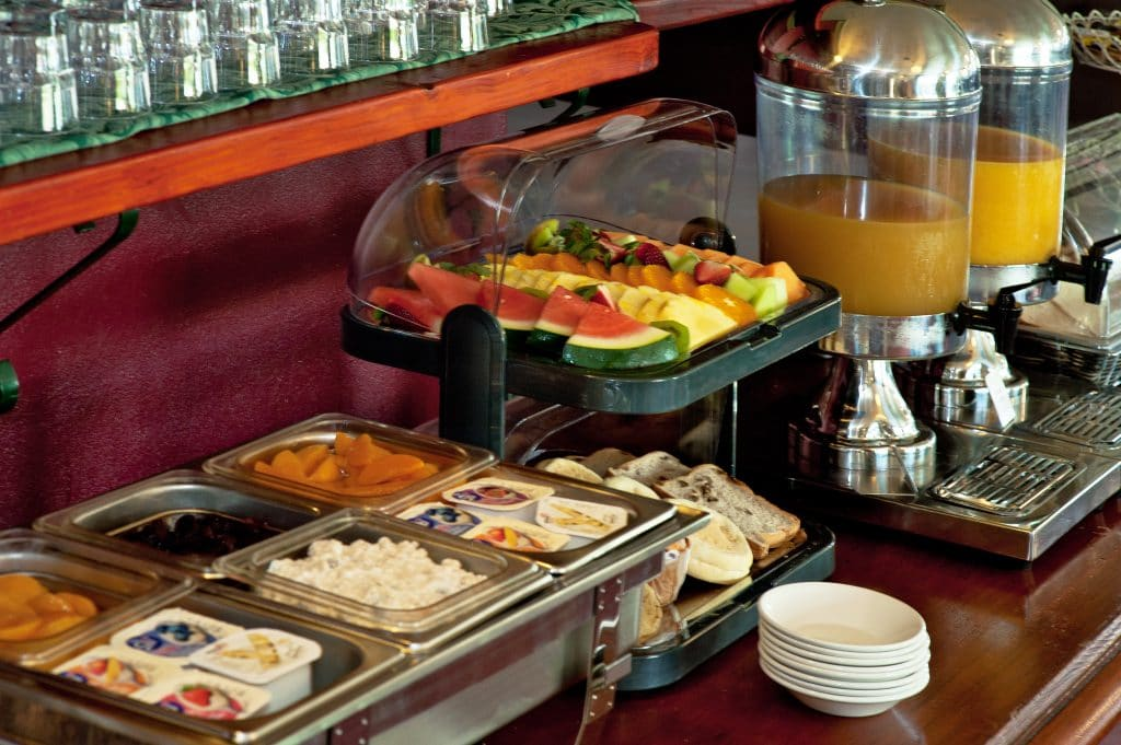 Colonial Terrace Buffet